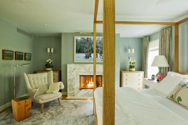 Dise os de dormitorios relajantes dormitorios colores y for Dormitorio verde agua