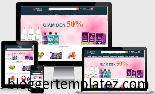 Theme bán hàng cho blogspot