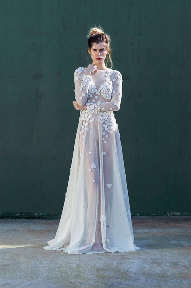 vestido novia blog bodas barcelona katarina grey dress wedding bridal
