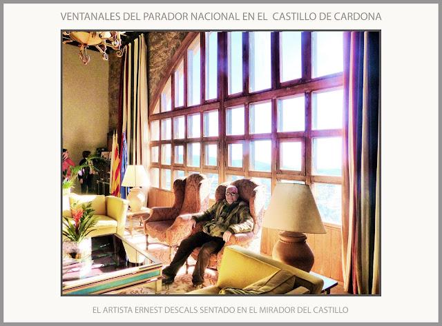 CARDONA-PARADOR NACIONAL-CASTELL-CASTILLO-MIRADOR-VISITAS-EXCURSIONS-FINESTRALS-HISTORIA-MEDIEVAL-FOTOS-ARTISTA-PINTOR-ERNEST DESCALS-
