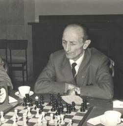 El ajedrecista asturiano Antonio Rico González