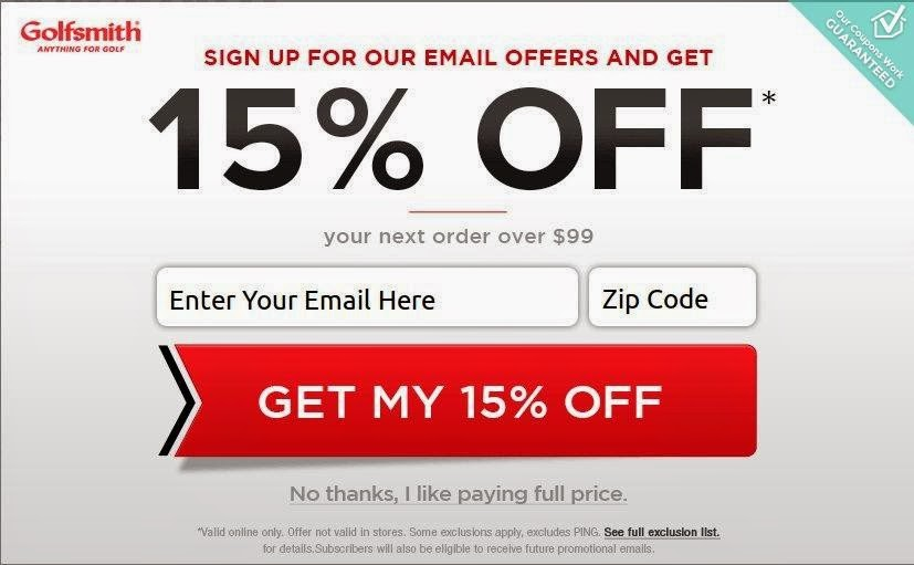 graphic relating to Golf Smith Printable Coupon referred to as Golfsmith discount codes within just retailer printable - Mattress bathtub and past