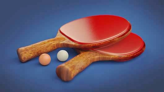 How To Setup This Ping Pong Paddle Render In Cinema 4D