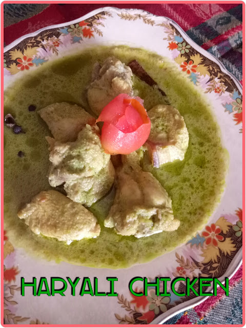 Haryali Chicken