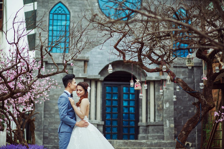 Gia Lai: Bùng nổ xu hướng chụp ảnh cưới hiện đại ở phim trường