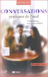 كتاب رائع جدا يحتوي عبارات وحوارات للتحدث باللغة الفرنسية في مختلف الحالات مصورة Conversations Pratiques de l'oral
