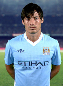 100a7be642a Top Football Players  David Silva Profile and Pictures Images