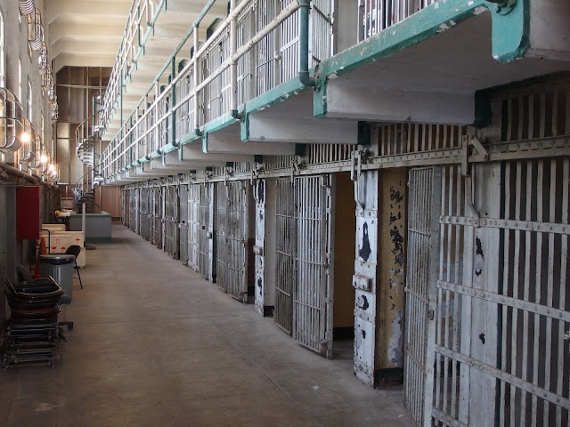 כלא אלקטרז - מראה מבפנים
