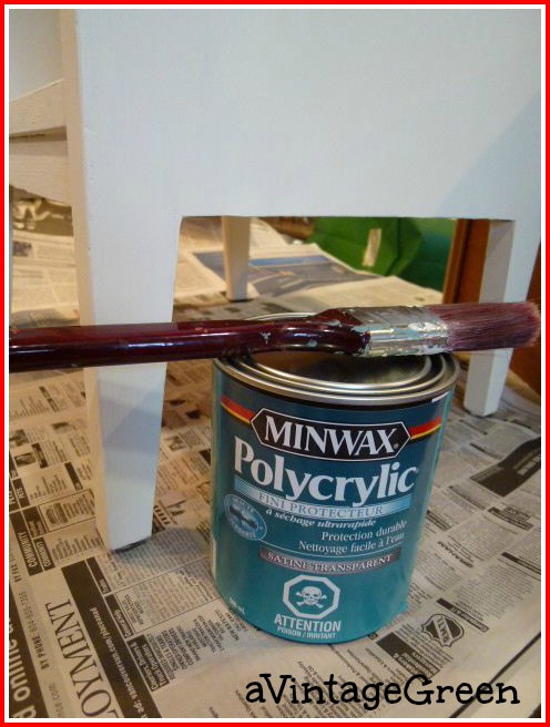 Best Way To Apply Polycrylic To Chalk Paint