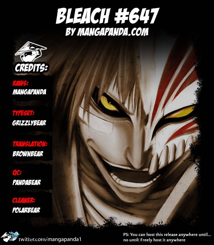 Bleach Ch 647: The Theatre Suicide