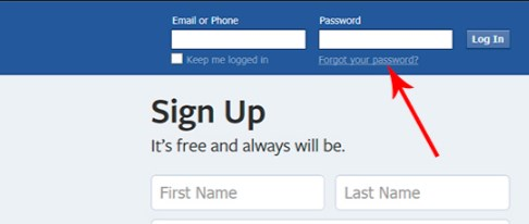 Facebook Com Login Desktop Site