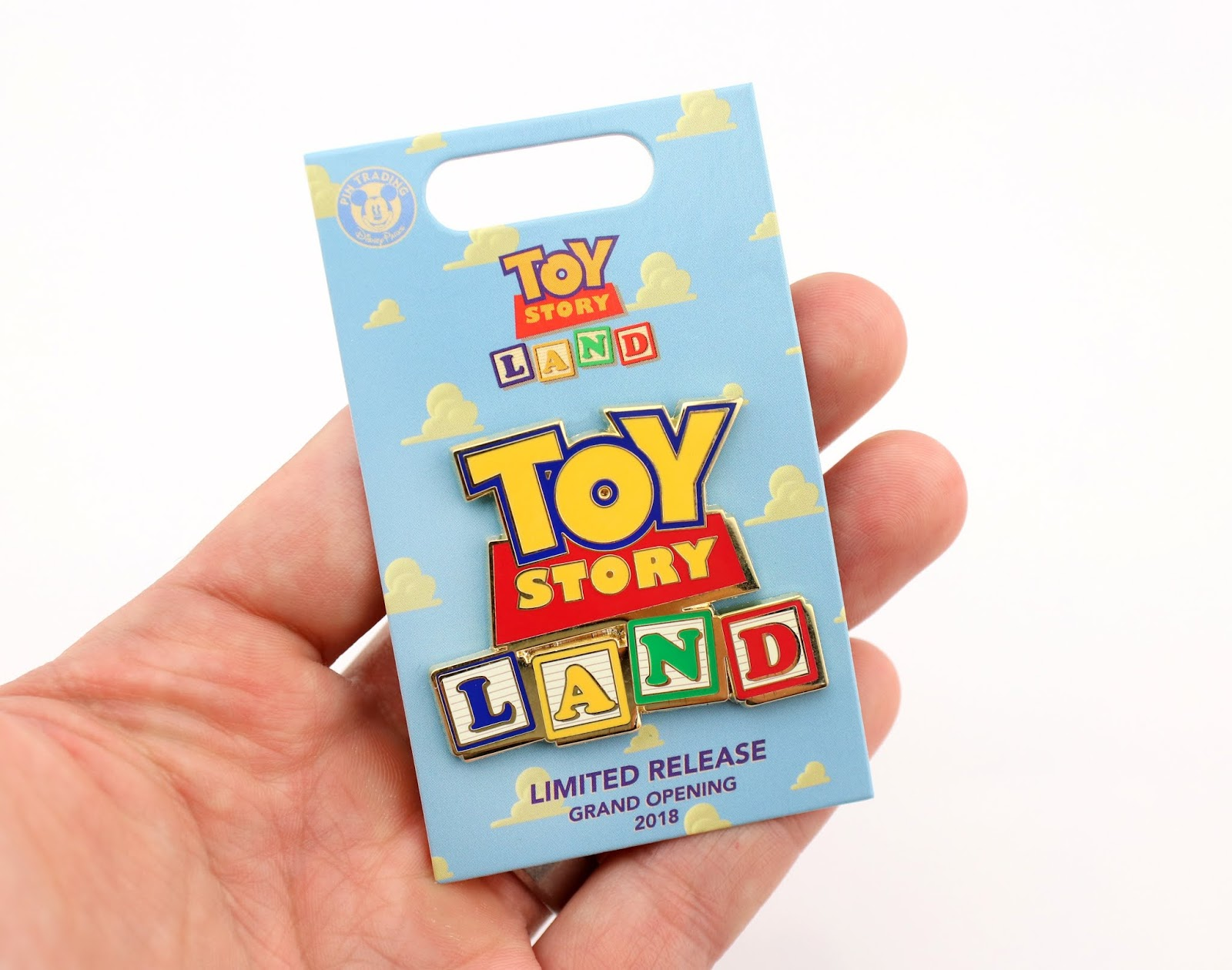 toy story land boxlunch logo pin