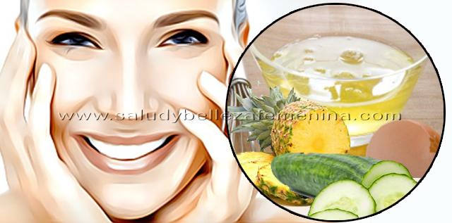 Rejuvenece la piel de tu rostro con estas mascarillas naturales, la combinación de huevo y pepino nos permite elaborar una mascarilla con propiedades reafirmantes y antiinflamatorias que pueden ayudar a reducir la flacidez y las arrugas prematuras.
