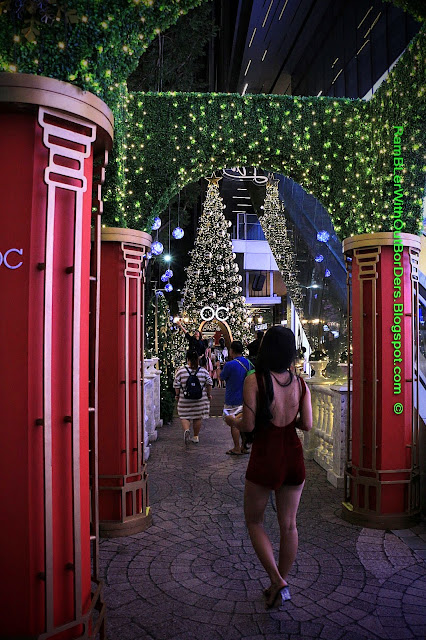 Christmas decoration, Orchard Central, Orchard Road, Singapore