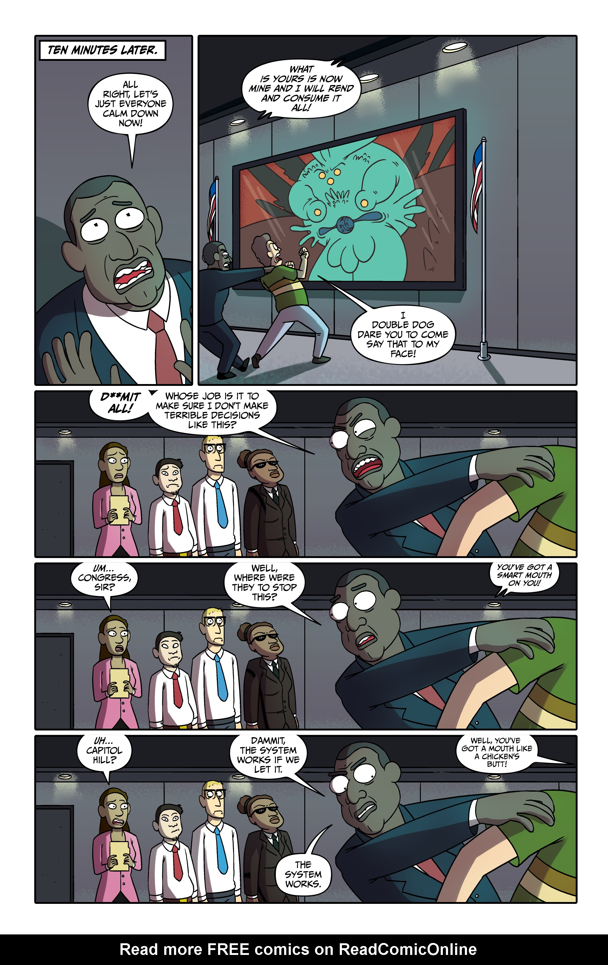 Read online Rick and Morty comic -  Issue #26 - 13