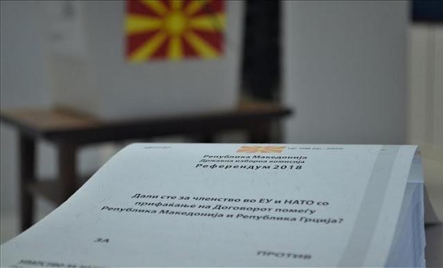 Si sta svolgendo la votazione per il referendum in Macedonia