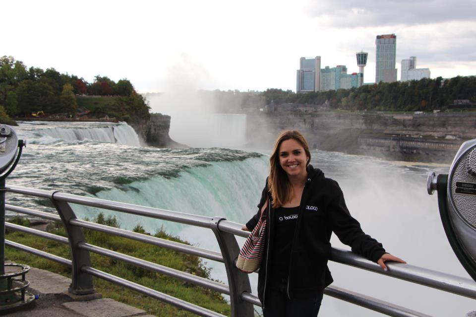 Image Cidy Quinn Brettler At Niagara Falls