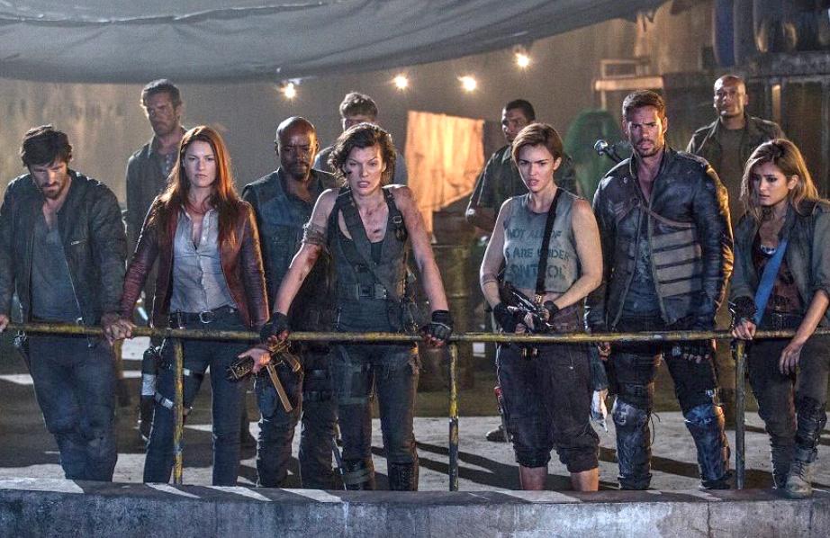 Wallpaper Milla Jovovich Ali Larter Ruby Rose Resident: Resident Evil: The Final Chapter (2016)