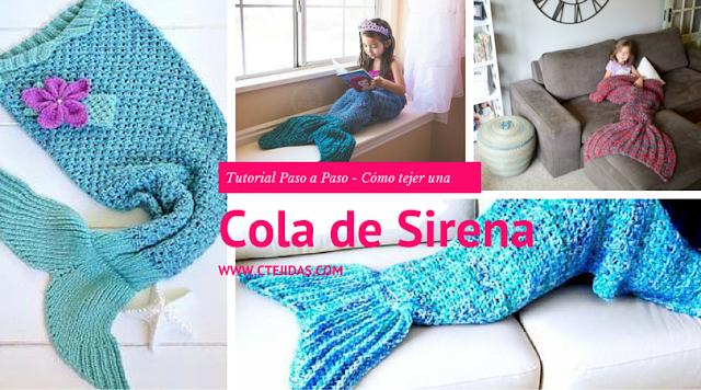 Cómo tejer una cola de Sirenita