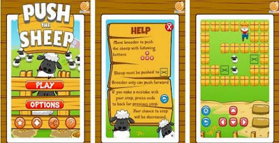 Push The Sheep: Game Puzzle Asal Salatiga
