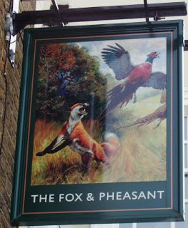 Enseigne The Fox & Pheasant - Nancy Storace
