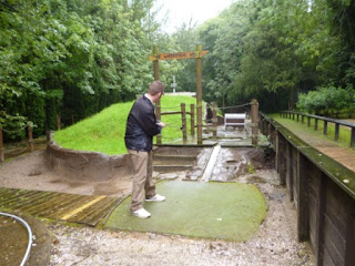 Mini Golf at Wonderland in Telford