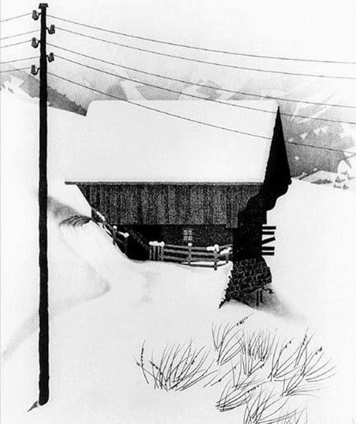 M.C. Escher Snow