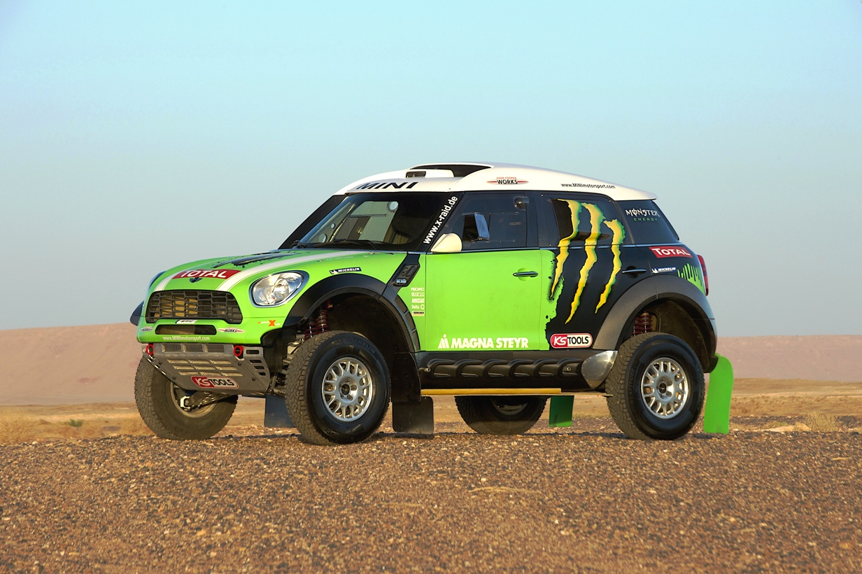 profile mini copper king of dakar 2013 4x4 cars. Black Bedroom Furniture Sets. Home Design Ideas