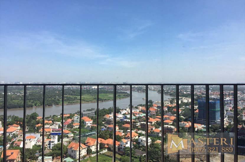 Bán căn hộ Masteri Thảo Điền 2 phòng ngủ 60m2 view sông cực đẹp