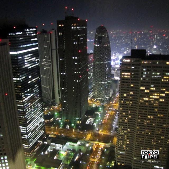 【東京都廳】新宿免費看夜景的好地方