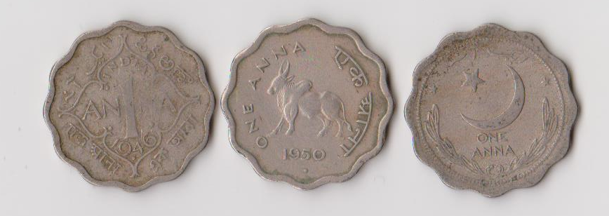 1957 to 1967 India 11 Coins Set of 10 Naye Paise Paise Copper Nickel Coins