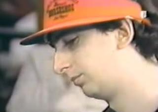 Erik Seidel wearing a stupid visor.