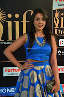 Madhu Shalini Looks Super Cute Slim trim Blue Choli Ghagra IIFA Utsavam Awards 011.JPG