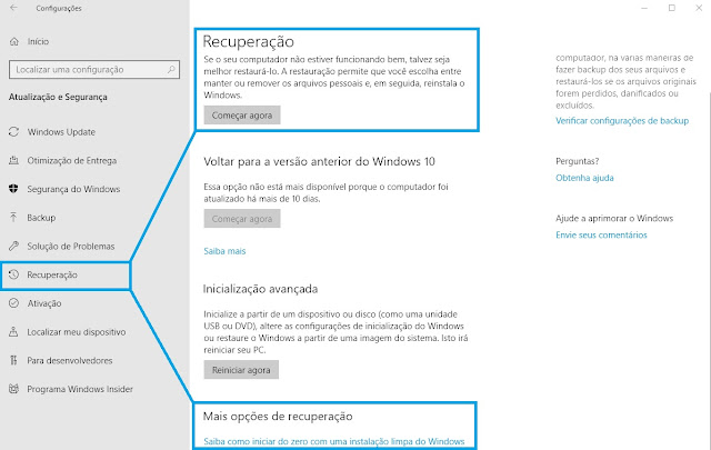 windows-10-recuperacao-sistema-fresh-start