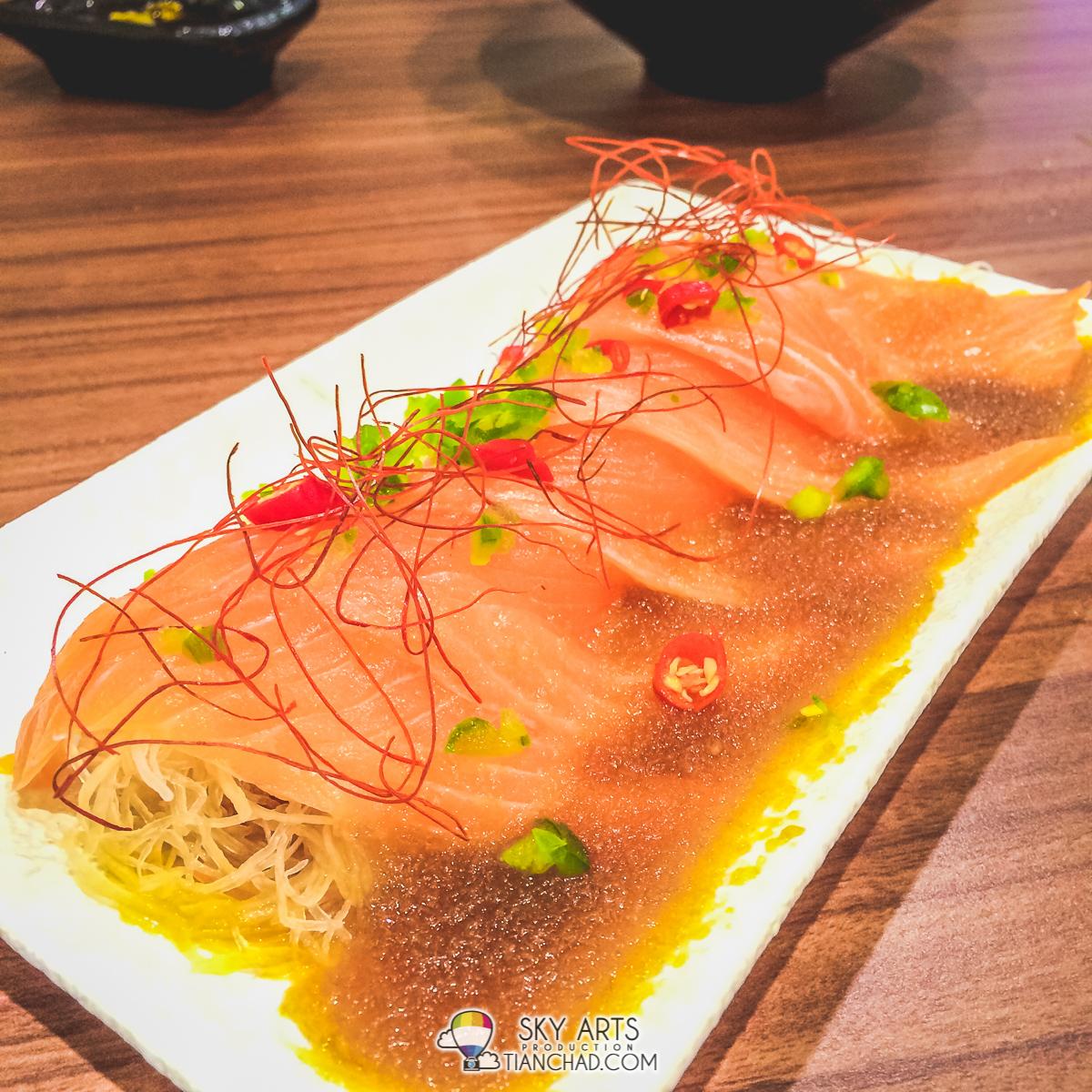 Spicy Salmon Salad @ Ichiban Boshi