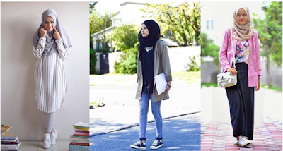 Model Baju Muslim Untuk Kuliah