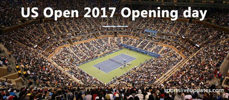 *US Open 2017* Opening Day