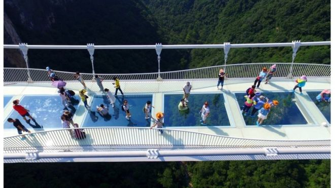 China's Zhangjiajie glass bridge closes after two weeks
