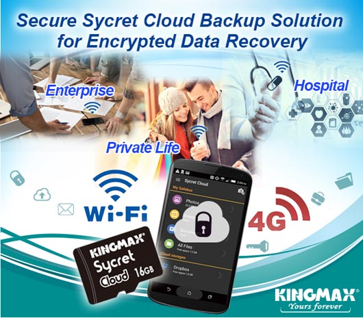 KINGMAX Sycret Cloud encryption card