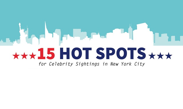 15 Hot Spots for Celebrity Sightings in New York City