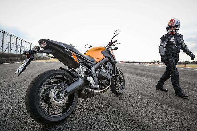 Nova Honda CB e CBR 650F 2019: fotos e detalhes