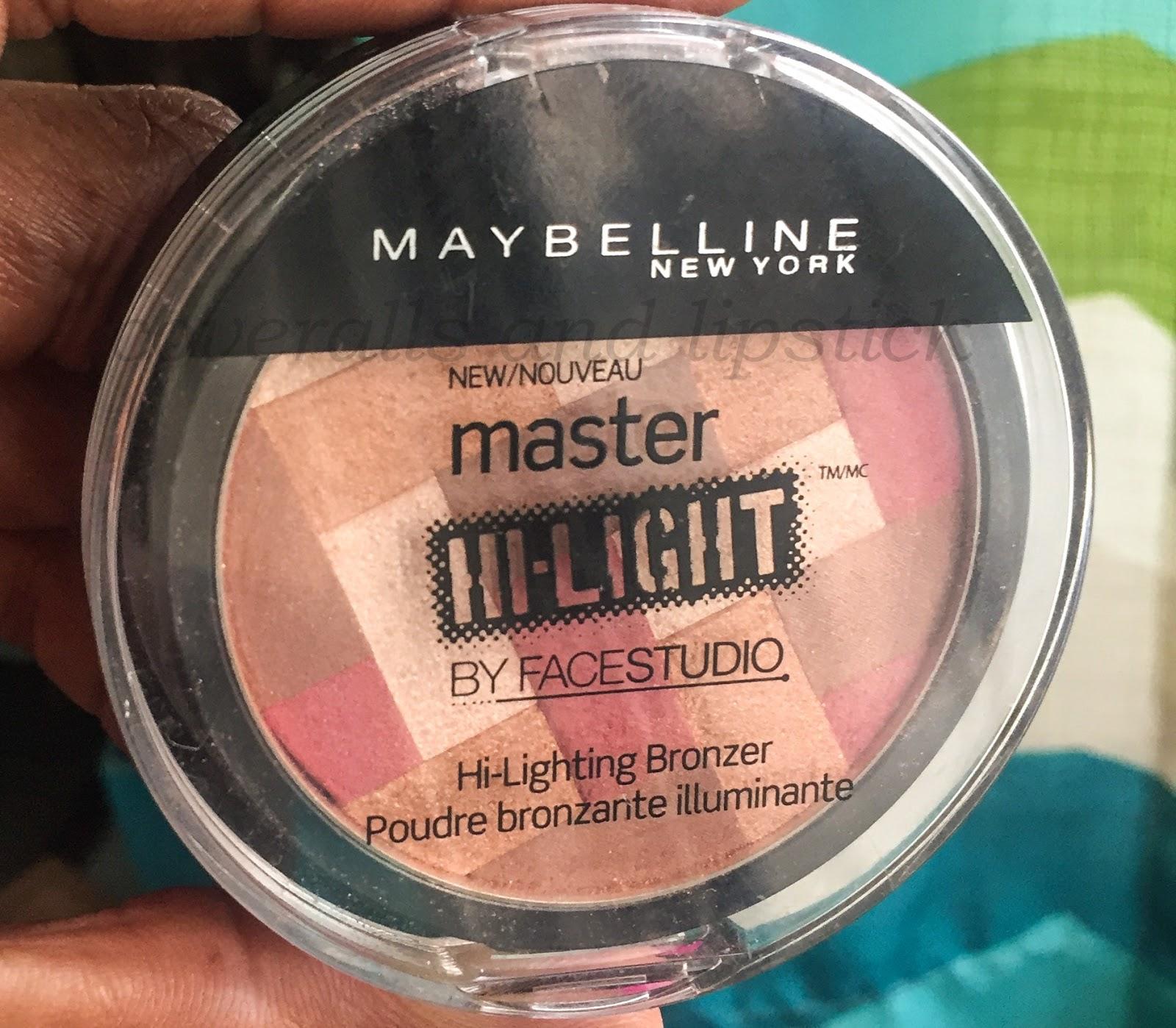 Maybelline Master Hi Lighting Bronzer In Deep Bronze