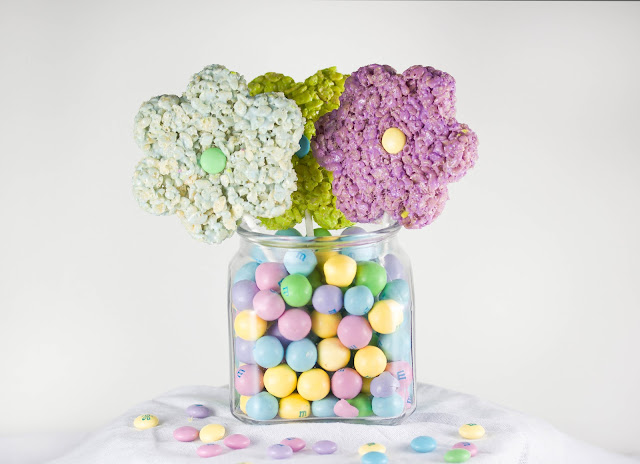 Rice Krispie Bouquet