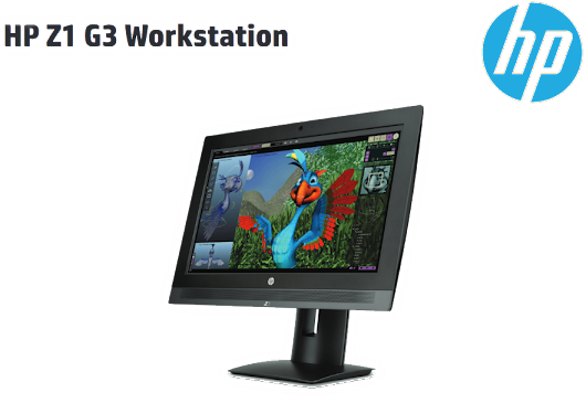 HP Announces New Z1 G3 Workstation and Software for the Mac Community...