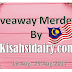 Giveaway Merdeka By Kisahsidairy.com