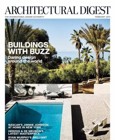 Architectural Digest USA Magazine February  Architectural Digest USA Magazine February 2017