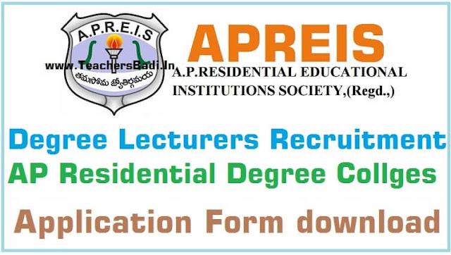 APRIES,Degree Lecturers recruitment,APRDCs-application form