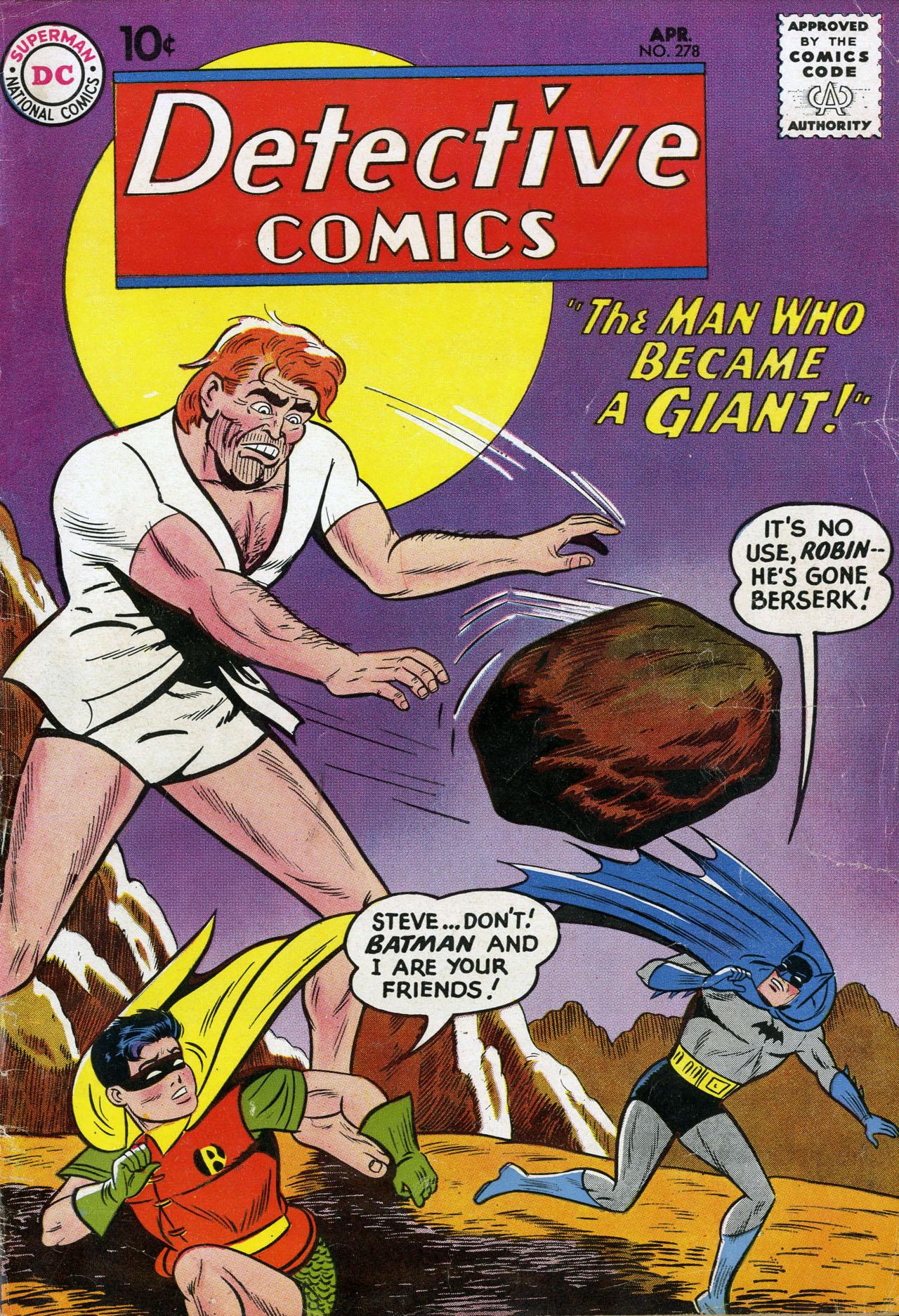 Detective Comics (1937) 278 Page 1