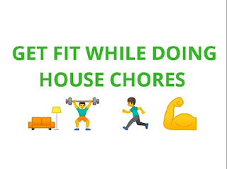 Tips to get fit while doing house chores