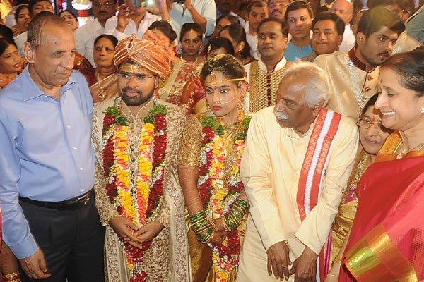Bandaru Dattatreya Daughter Vijayalaxmi Wedding Photos